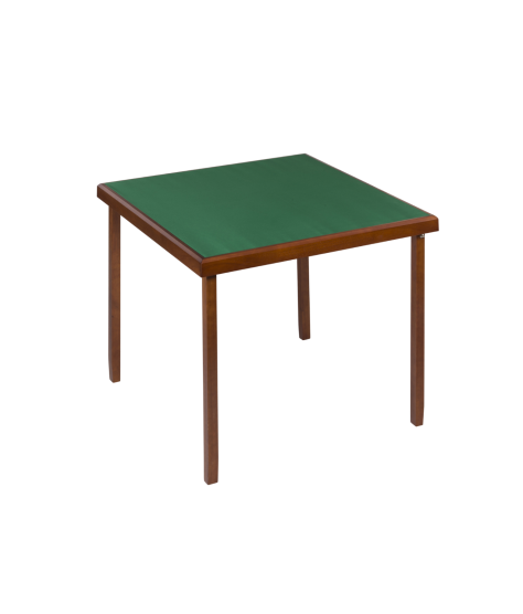 Oak color bridge table 82x82 cm