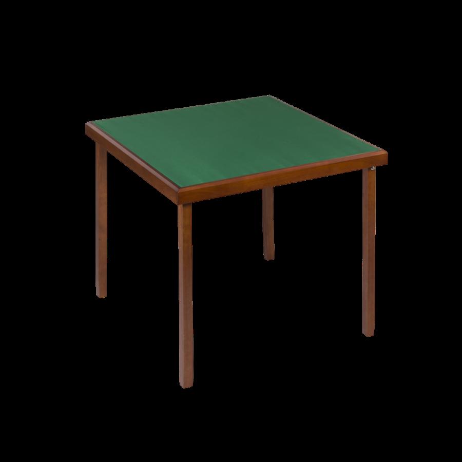 Table de bridge coloris chêne 82x82 cm TAB9033 Tables et tablettes