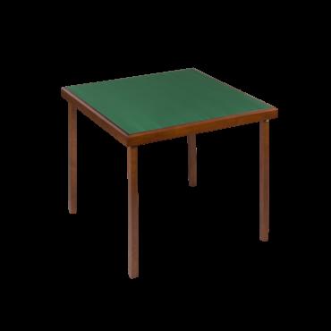 Oak color bridge table...