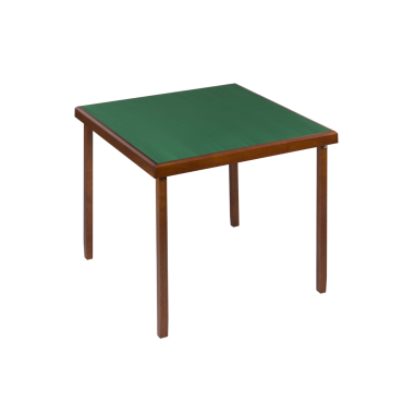 Table de bridge coloris chêne 82x82 cm TAB9033 Tables et tablettes