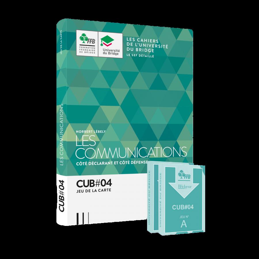 Pack CUB 4 : Les communications - Livre et cartes LIV11522 Librairie