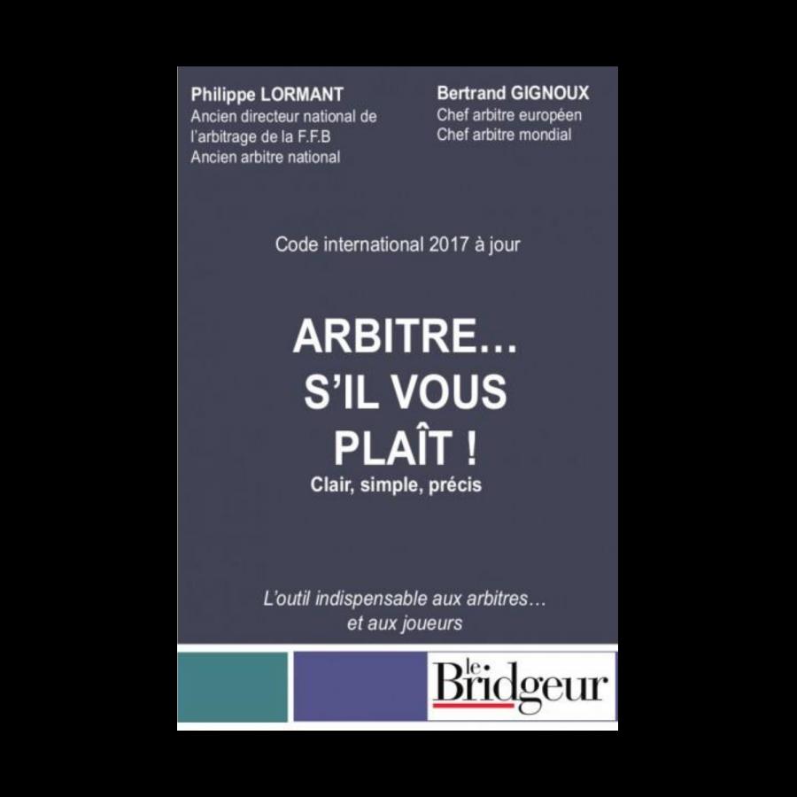 Arbitre...S'il vous plaît ! LIV11536 Librairie
