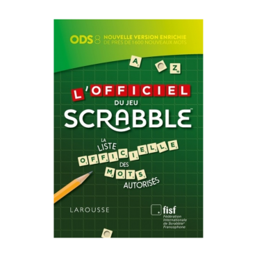 Officiel du Jeu de Scrabble Nouvelle Version ODS 8 LIV43291 La boutique