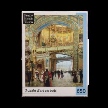 Puzzle Wilson 650 pièces - Le Dôme Central de Louis Beroud PUZ1100 Puzzles et casse-têtes