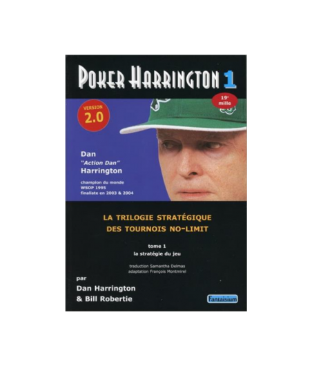 Poker Harrington Tome 1 LIV42584 La boutique