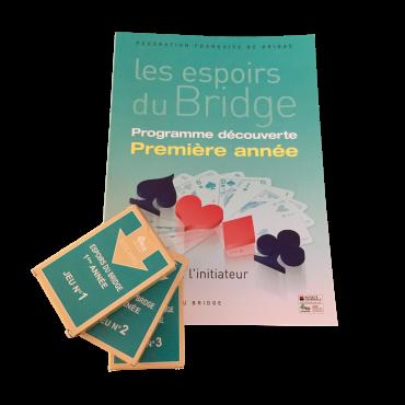 Pack Initiateur première année : 1 livre + 3 jeux fléchés d'application LIV21571 Librairie
