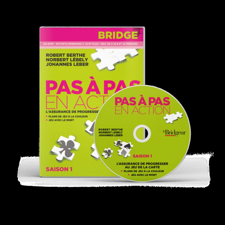 Pas à Pas en action Saison 1 CD-Rom LOG1700 Logiciels de bridge