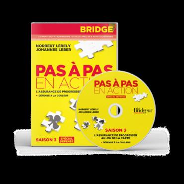 Pas à Pas en action Saison 3 CD-Rom LOG1720 Logiciels de bridge
