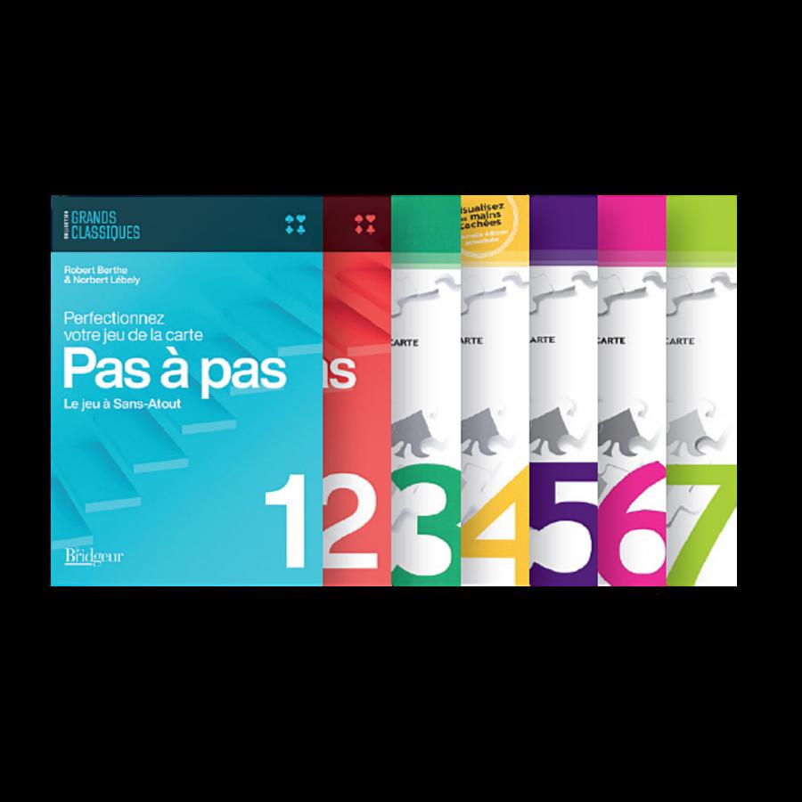 Pack des 7 volumes Pas à Pas PAC2009 Librairie