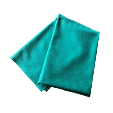 Coupon de drap de laine vert TAP2080 Matériel de bridge