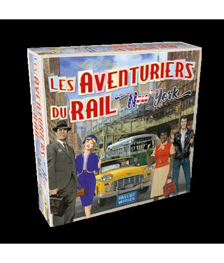 Les Aventuriers du Rail - New York JEU56031 Jeux