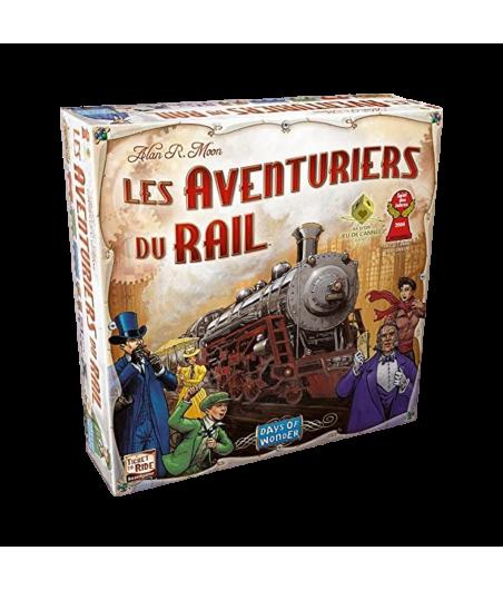 Les Aventuriers du Rail JEU56021 Jeux de société