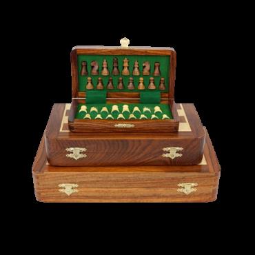 Coffret échecs magnétique - 17 x 9 cm ECH1603 Échecs