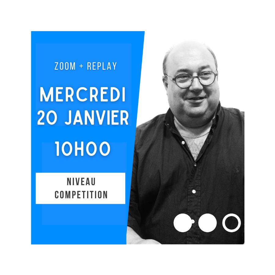 Zoom + Replay : Modifications des réponses aux interventions si le n°3 parle - Olivier Giard CONF36 Logiciels et conférences