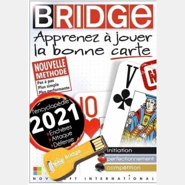 Apprenez à jouer la bonne carte version DECOUVERTE version 2020 clé USB LOG2600 Logiciels de bridge