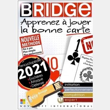 Apprenez à jouer la bonne carte Clé USB PC LOG2601 Logiciels de bridge