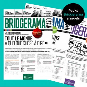 Pack revues numériques Bridgerama REVBA Accueil