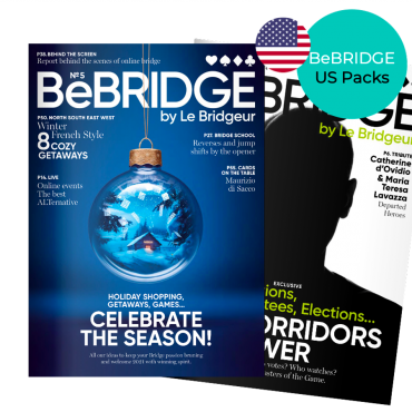 Pack revues numériques anglaises BeBRIDGE REVBB20US Accueil