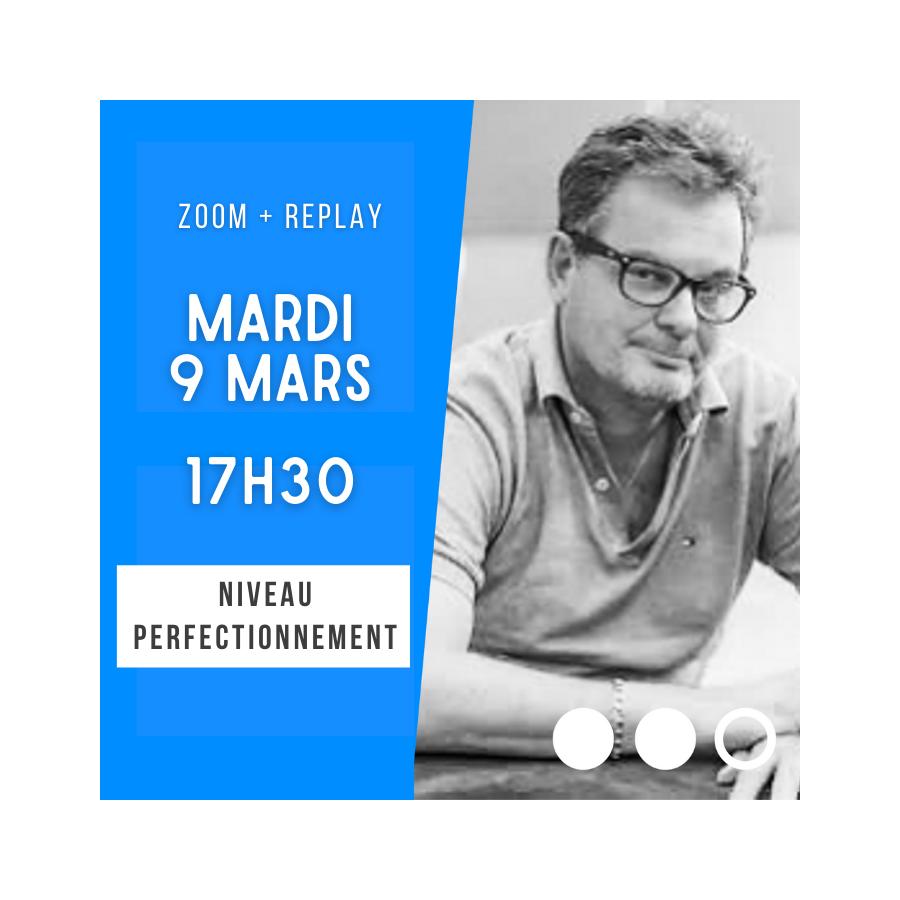 Zoom + Replay : 4SA : Blackwood ou quantitatif - Laurent Thuillez CONF70 La boutique