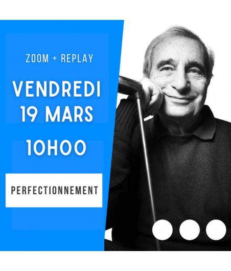 Zoom + Replay : Le bicolore cher - Alain Lévy CONF78 La boutique