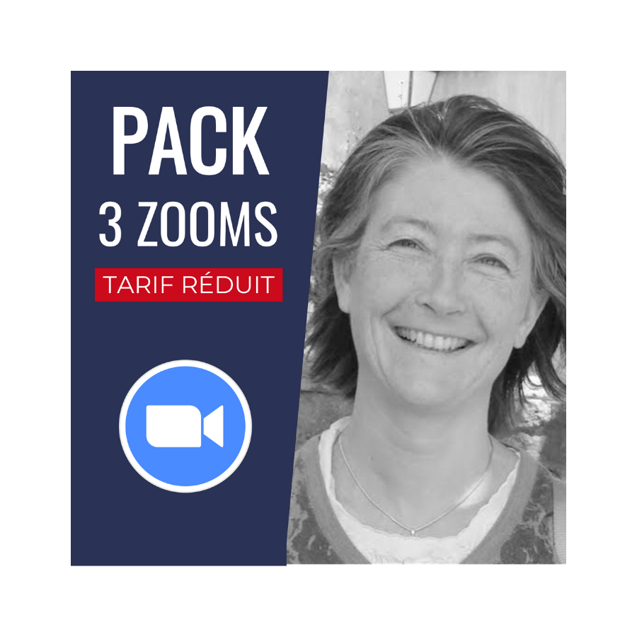 Pack 3 Conférences Zoom + Replay : Sabine Rolland PACCONF18 Accueil