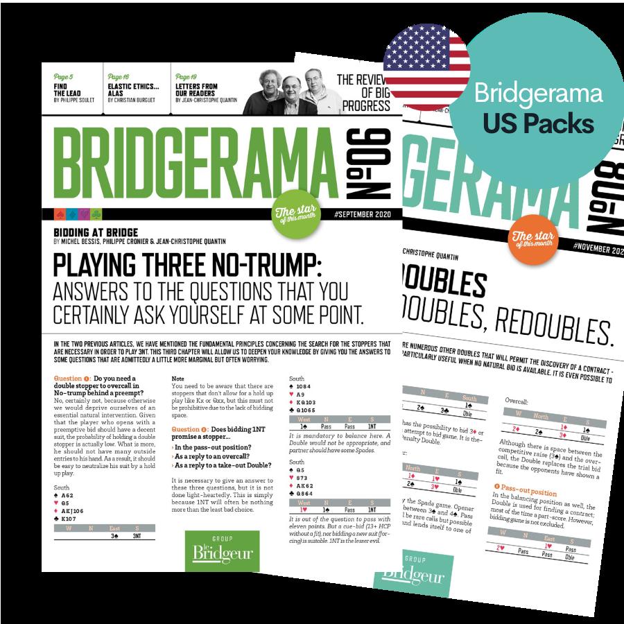 Pack revues numériques anglaises Bridgerama REVBA20US Accueil