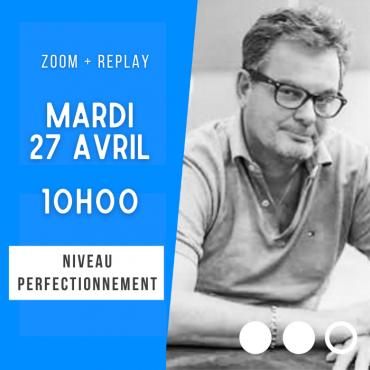 Zoom + Replay - Les enchères d'essai - Laurent Thuillez CONF104 La boutique
