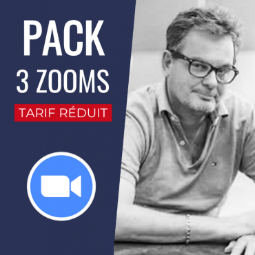 Pack 3 Conférences Zoom + Replay : Laurent Thuillez PACCONF23 Accueil