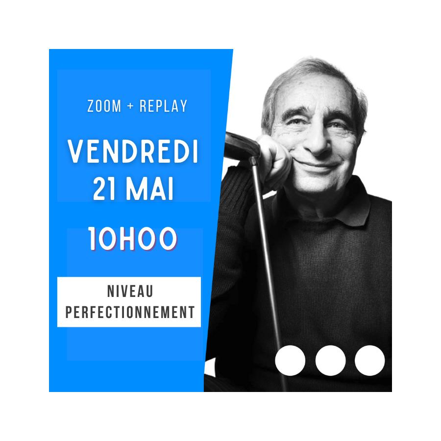 Zoom + Replay : Les redemandes de l'ouvreur avec saut Partie 1 - Alain Lévy CONF122 La boutique