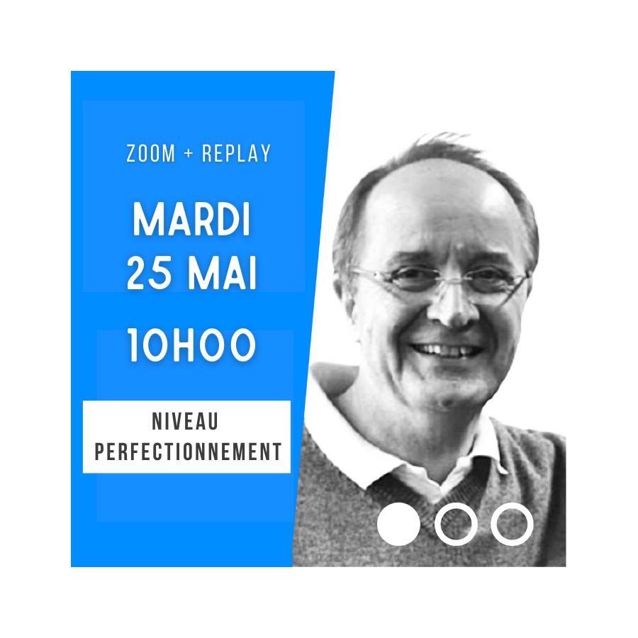 Zoom + Replay : Jeux d'atouts : coupes, upper-cut, raccourcissements… - Marc Kerlero CONF124 La boutique