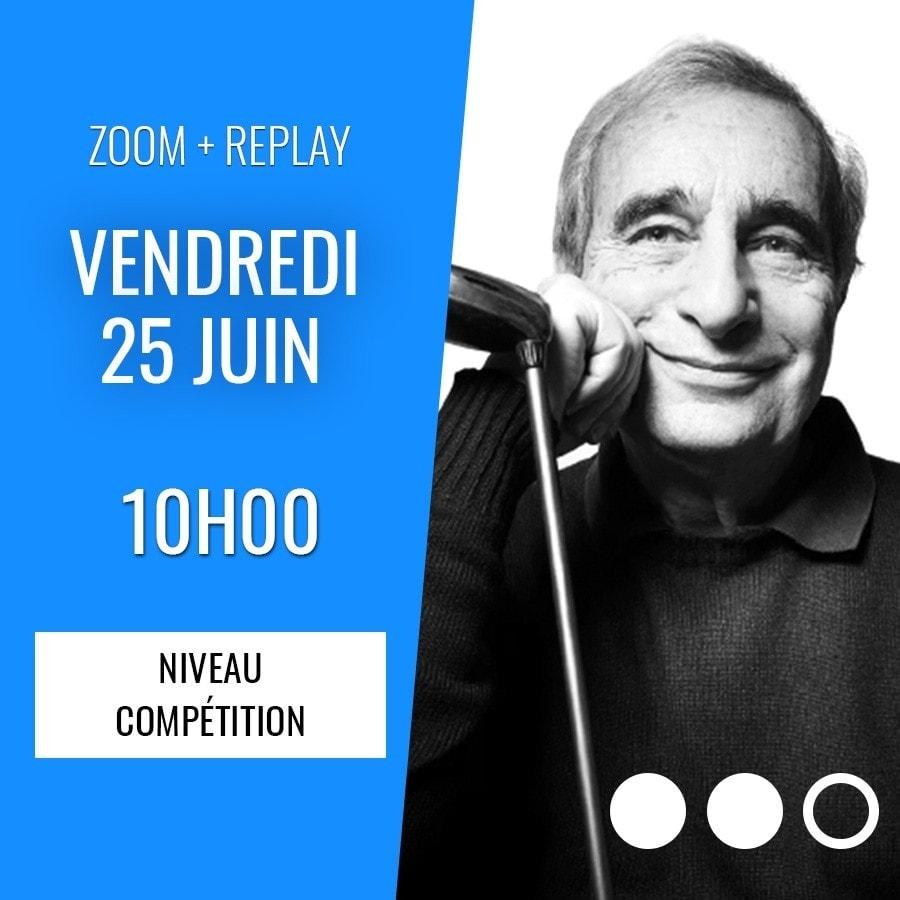 Zoom + Replay : Les nouvelles enchères d'essai - Alain Lévy CONF136 La boutique