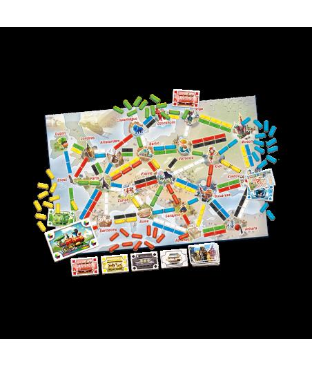 Les Aventuriers du Rail - Europe Premier Voyage JEU56036 Jeux de société