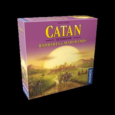 Catan extension barbares et marchands JEU56067 Jeux de société