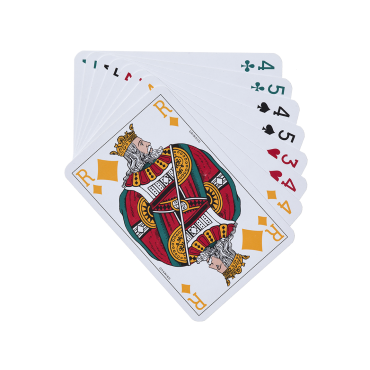 Cartes concorde 4 couleurs CAR1035 Cartes à jouer