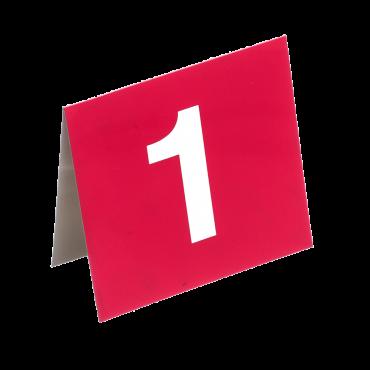 Numéros de table vendus par série de 8 ACC1250C La boutique