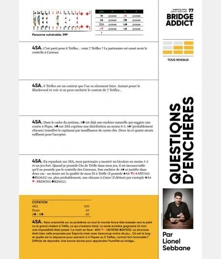 BeBRIDGE - Juillet 2021 numérique ou papier bri_num_pap2 Derniers numéros BeBRIDGE
