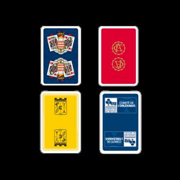 Jeu de cartes à personnaliser avec votre logo CAR9600 Cartes à jouer
