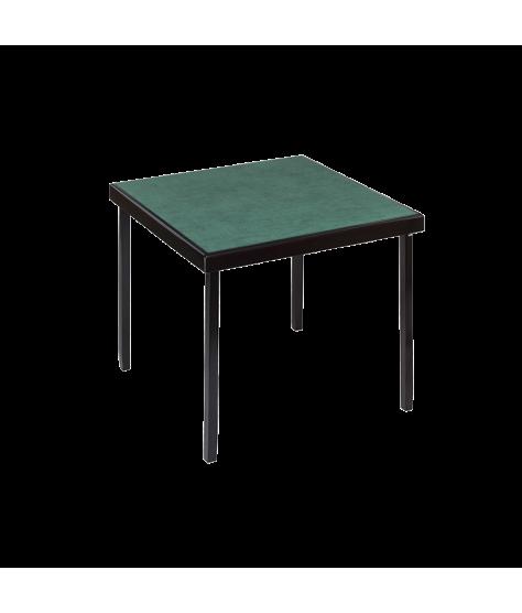 Table pro Mahogany microfiber green 82 cm