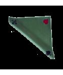 Tapis de bridge effet velours vert 77x77 cm TAP1001 La boutique