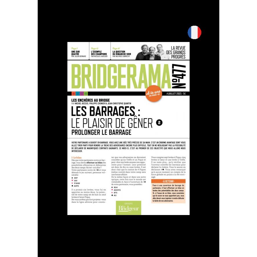 Abonnement Bridgerama - Formule Papier ABOBBPAPT Abonnement