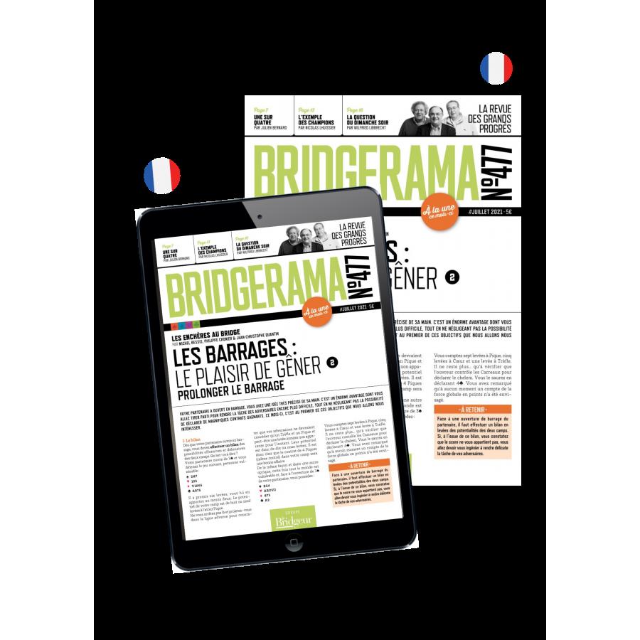 Abonnement Bridgerama - Formule Papier + Numérique ABOBBPAPNUMT Commerce