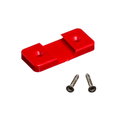 Red fixing plate