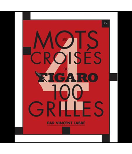 Les mots croisés du Figaro n°4, 100 grilles LIV42473 Librairie