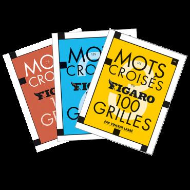 Pack Les Mots Croisés du Figaro 300 grilles N°1/2/3 PAC4247 Librairie
