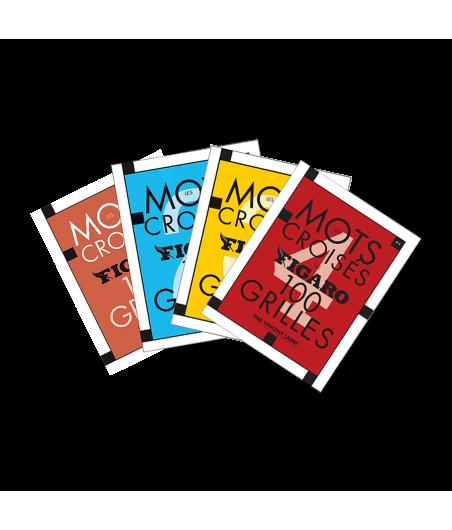 Pack Les Mots Croisés du Figaro 300 grilles N°1/2/3/4 PAC4247A Librairie