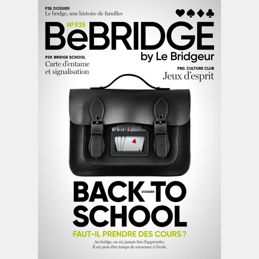 BeBRIDGE - Septembre 2021 numérique ou papier bri_num_pap3 Derniers numéros BeBRIDGE