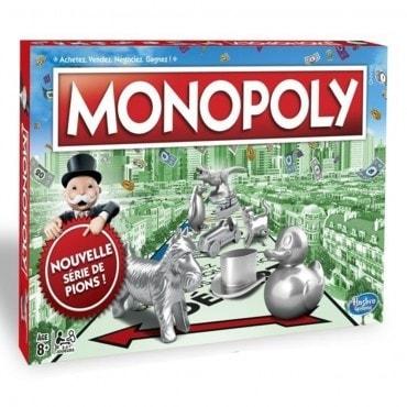 Monopoly classique jeu5804 Jeux