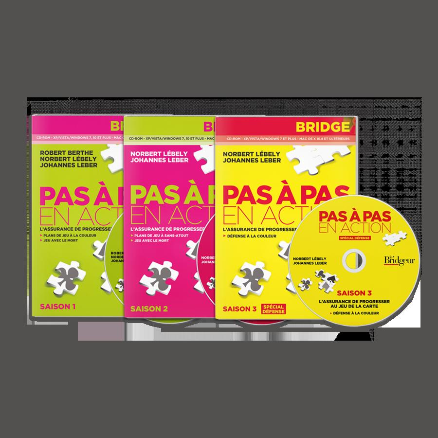 Pack des 3 saisons de Pas à Pas CD-Rom PACLOG17CD Packs Logiciels