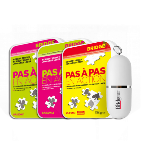 Pack des 3 saisons de Pas à Pas Clé USB PACLOG17USB Packs Logiciels