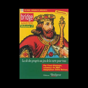 Bridge Master Vol. 2 - CD-ROM PC LOG1601 Logiciels de bridge